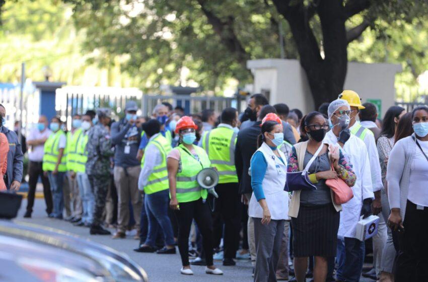 Seis personas heridas durante el simulacro de sismo en San Pedro de Macorís